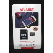 Карта памяти 4Gb ATLANFA microSDHC class 6 (adapter SD)