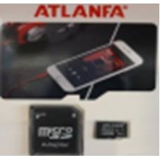 Карта памяти 8Gb ATLANFA microSDHC class 4 (adapter SD)