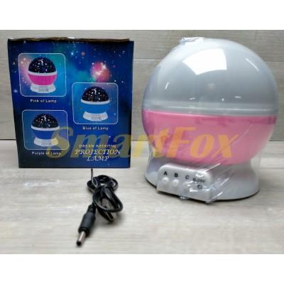 Ночник проектор звездного неба STAR MASTER (от USB и батареек)