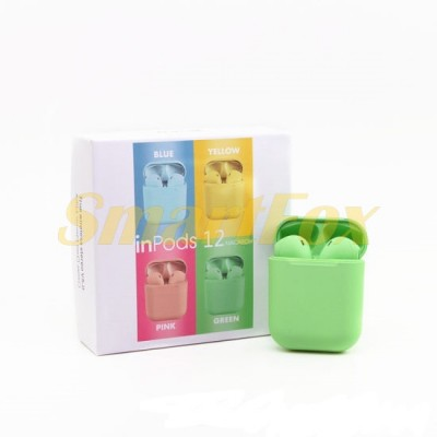 Блютуз гарнитура AirPods inpods 12 (A)