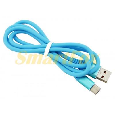 Кабель USB/TYPE-C SOFT TOUCH (1 м)