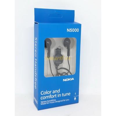Наушники вакуумные с микрофоном NOKIA N5000