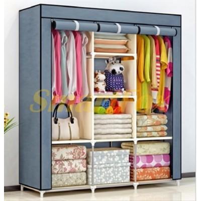 Складной тканевый шкаф (118х45х169 см) SL-1221