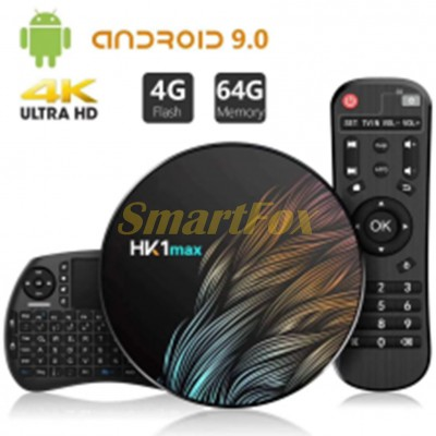 Приставка Smart TV Box HK1 max (4+64 Android 9.0)