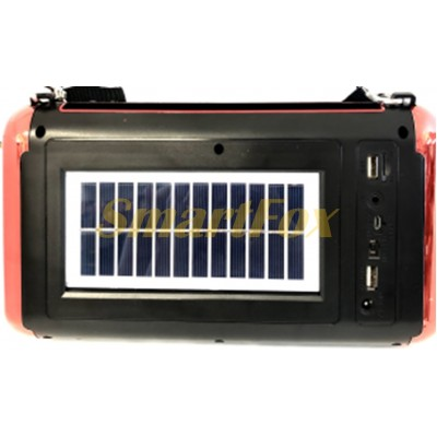 Портативная колонка Bluetooth Solar GOLON RX-S336BTS
