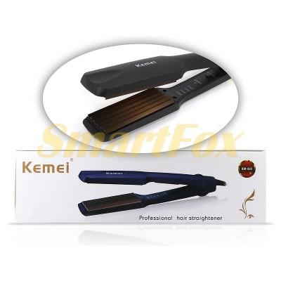 Утюжок для волос гофре Kemei KM-332