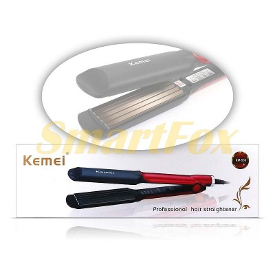 Утюжок для волос гофре Kemei KM-533