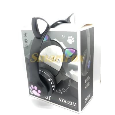Наушники беспроводные Bluetooth УШКИ CATear VZV-23M LED (Черный)