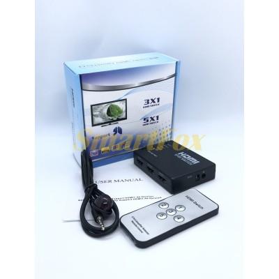 Свитч Switch HDMI 5х1 -501