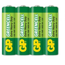 Батарейка GP GREENCELL Extra Heavy Duty 24G S2 (R03, size AAA)