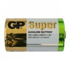 Батарейка GP Super Alkaline Battery 13A S2 (LR20, size D)