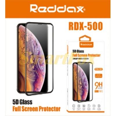 Защитное стекло REDDAX для IPHONE 7G/8G PLUS 5D/ПЕРЕДНИЙ BLACK