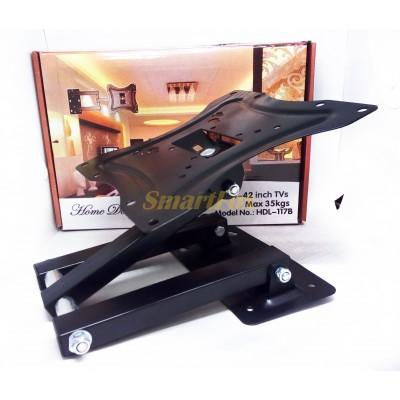 Крепеж настенный для телевизора усиленный наклонный/поворотный (размер 14