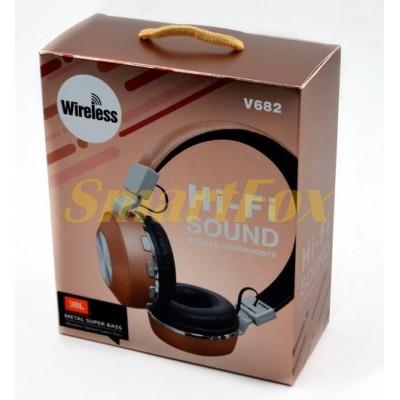 Наушники беспроводные Bluetooth JBL V682