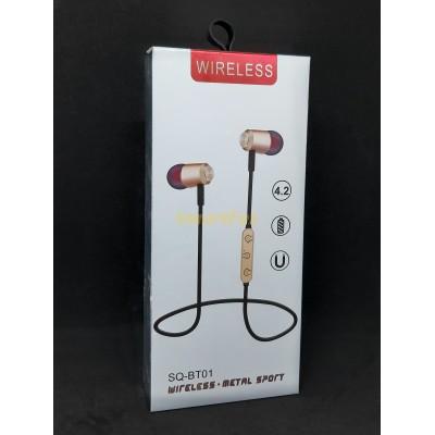 Наушники беспроводные Bluetooth SQ-BT01