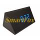 Настольные часы VST-864-5 с синей подсветкой в виде деревянного бруска