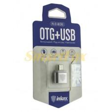 Адаптер OTG USB/microUSB Inkax PA-01-V8