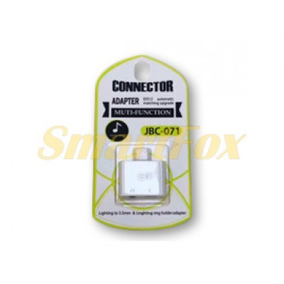 Адаптер для наушников IPHONE 5/jack 3,5мм JBC071-1