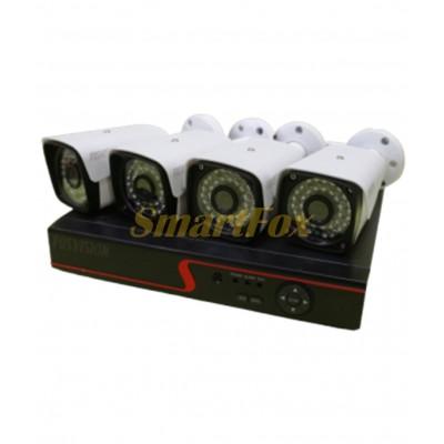 Комплект видеонаблюдения FosVision FS-601N20-4CH 4-х канальный 2Mp