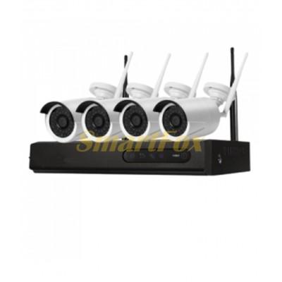Комплект видеонаблюдения Wi-Fi Fosvision FS-6233W20-4CH 2mp 4-х канальный
