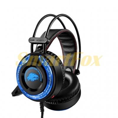Наушники накладные с микрофоном игровые и подсветкой A5
