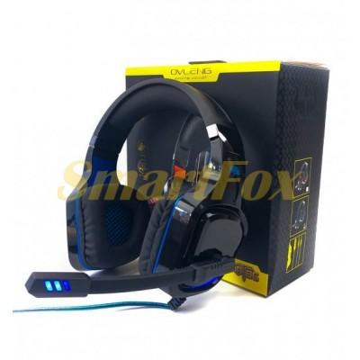 Наушники накладные с микрофоном OVLENG GT96 BLACK