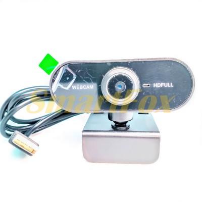 WEB-камера с микрофоном DL02 Full HD WebCam (в белой коробке)