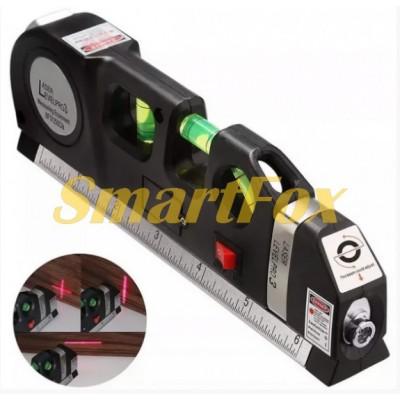Лазерный уровень со встроенной рулеткой LASER LEVELRO