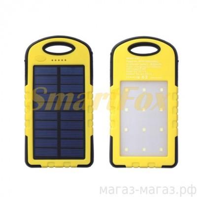УМБ (PowerBank) Solar N led 25000mAh +солнечная батарея