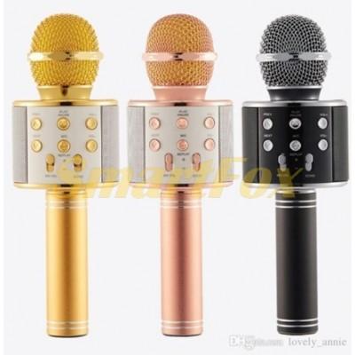 Микрофон караоке WS858 микс