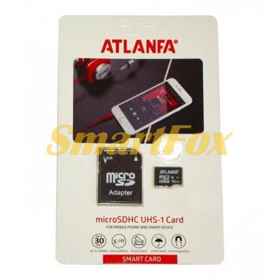 Карта памяти 64Gb ATLANFA microSDHC class 10 (adapter SD)
