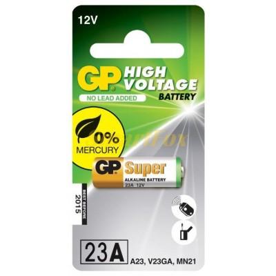Батарейка GP High Voltage Battery 12V 23A V23GA MN21 (цена за 1шт, продажа упаковкой 5шт)