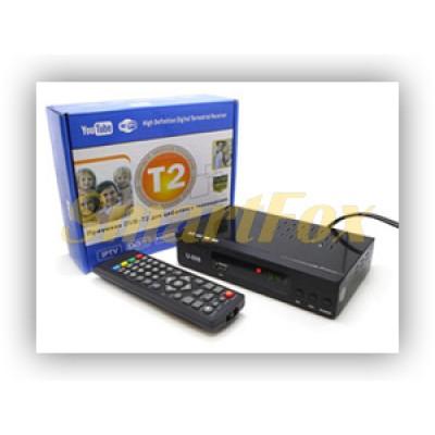 Приставка T2 цифровая с экраном DVB-T2 T2-006 металл