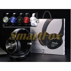 Наушники беспроводные Bluetooth AZ-09-BT-80 (SD+FM)