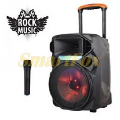 Портативная колонка Bluetooth в виде чемодана Rock Music RK-1209