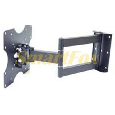 Крепеж настенный для телевизора HY206E наклонный поворотный (26- 55