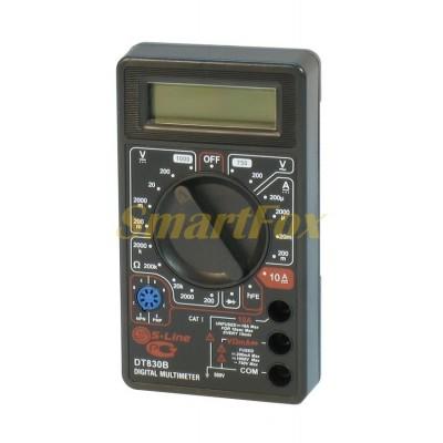 Мультиметр DT-830 многофункциональный цифровой с дисплеем оригинал