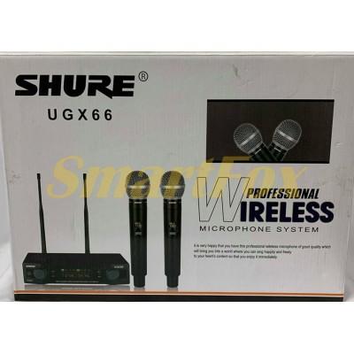 Микрофон беспроводной UGX66