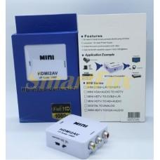 Конвертер HDMI/AV 3RCA 1080p