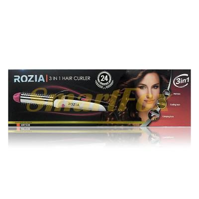 Стайлер плойка и утюжок Rozia HR7330 3в1