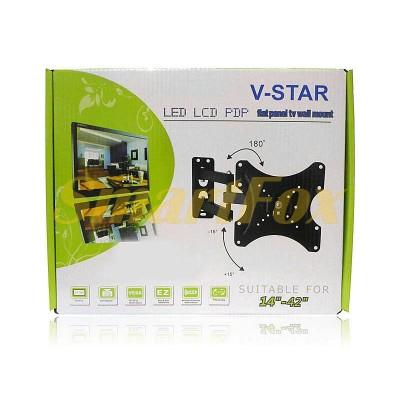 Крепеж настенный для телевизора 14-42 CP302S-4740