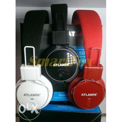 Наушники беспроводные AT-7611 со встроенным MP3 плеером и Bluetooth