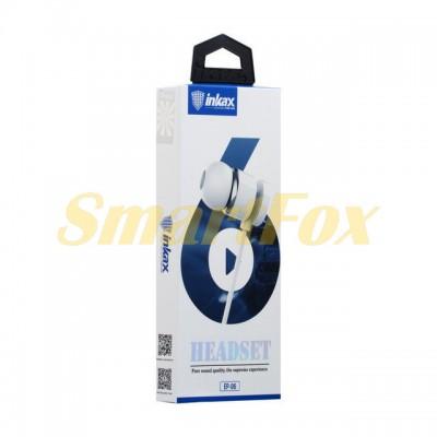 Наушники вакуумные с микрофоном INKAX EP-06 металл