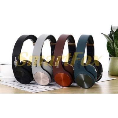 Наушники беспроводные Bluetooth с микрофоном BK-22 складные