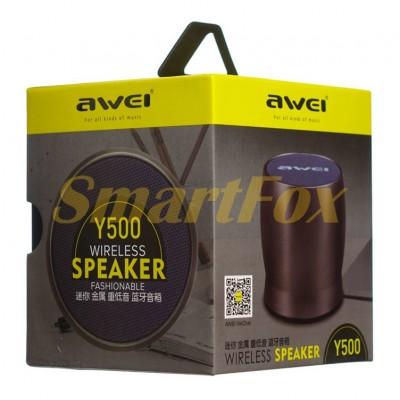 Портативная колонка Bluetooth Awei Y500