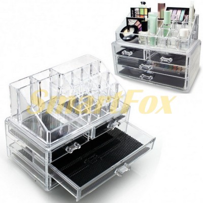 Органайзер для косметики Cosmetic Storage Box на 4 ящика