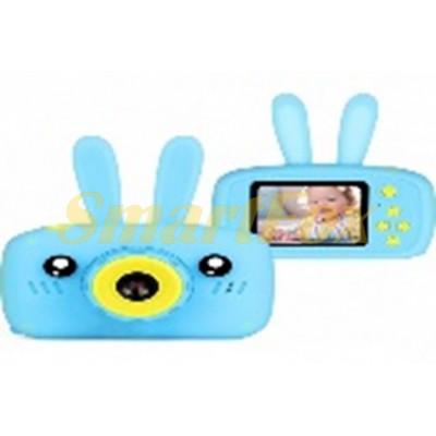 Фотоаппарат цифровой детский Baby Photo Camera Rabbit с автофокусом X-500