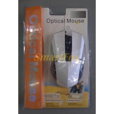 Мышь проводная полноразмерная MA-78 Белый