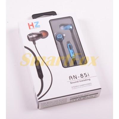 Наушники вакуумные с микрофоном HZ AN-85i
