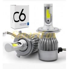 Автомобильные лампы LED H7 C6-18W